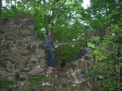 Madison powderhouse ruins